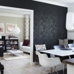 Black walls: dare with them!