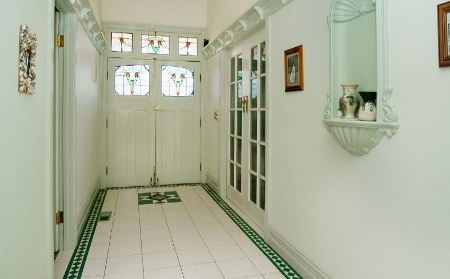 decorate corridor