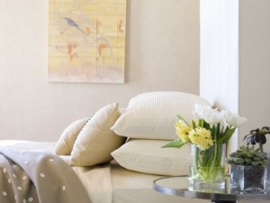 decorating home with flowers