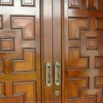 Decorating doors with moldings