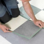 How to place linoleum flooring
