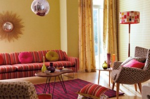 retro style in the lounge