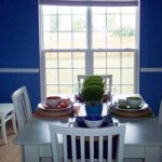 Decorate a small dining room