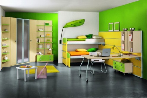 Design a study room for children Indoor Lighting