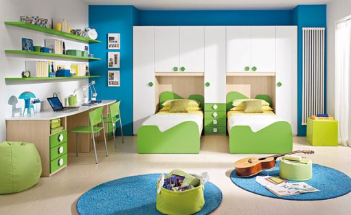 play area in the children's room