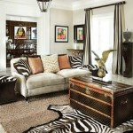 Animal print in home decoration