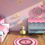Decorate your room with flowery design