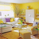 A challenge in the decoration: Yellow color