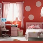 The red color in the decor – bold but spectacular