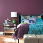 Decorate room with purple color