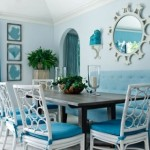 Blue decor: A relaxing and fresh atmosphere