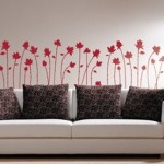 Change decor with vinyl