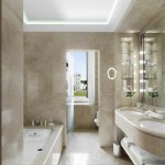 Distribute small or large bathrooms