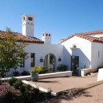 Architectural elements of almost every Spanish revival style home