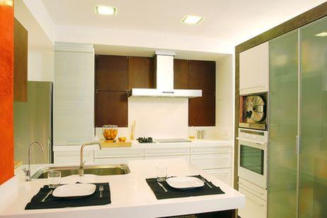 decorate kitchen furniture