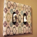 Paint or decorate light switches