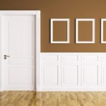 Decorate doors with moldings