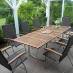 Furniture for the garden in winter