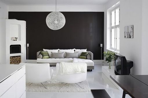 paint walls black