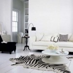 Decorate Your Home With A Beautiful Zebra Print Cowhide