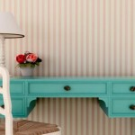 Decorate with colorful furniture
