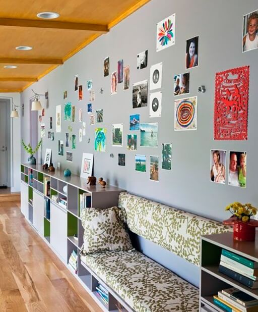 decorating ideas for the magnetic paint