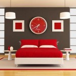 Decorate in red tones