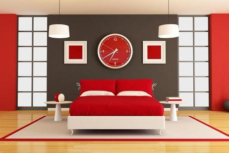 decorate in red