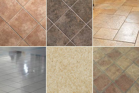 Types of floor tiles indoor lighting - Different types of tiles for floor ...