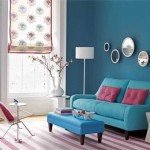Decorate the home with blue tones