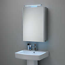 lighted bathroom cabinets