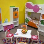 Modern decoration for children's bedrooms