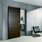 Slide away with sliding doors