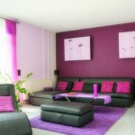 Decorate room in pink color
