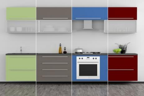 color of the kitchen