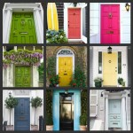 Original ideas for decorating doors