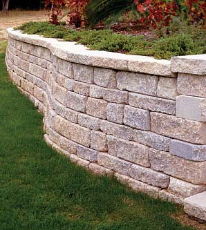 build retaining wall