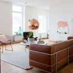 Decorate with copper lamps