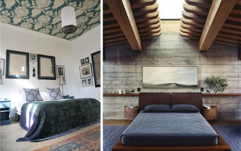 bedrooms with different ceilings