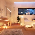 Make your bathroom more luminous with light colors