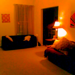 Decorate a dimly lit room