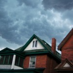 Save on heating and cooling during the storm