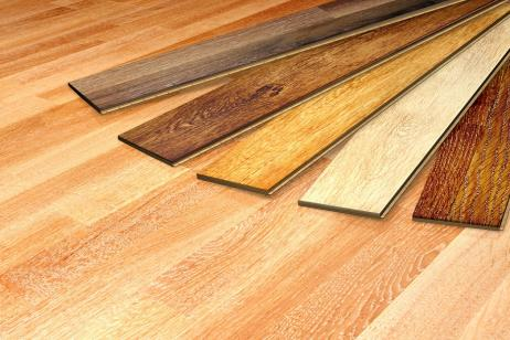 natural wood or wood grain floor