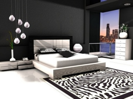 black color for decoration
