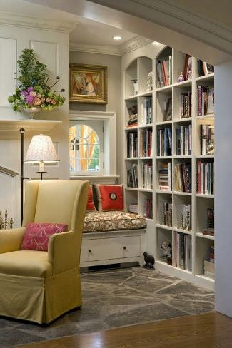 reading corner at home