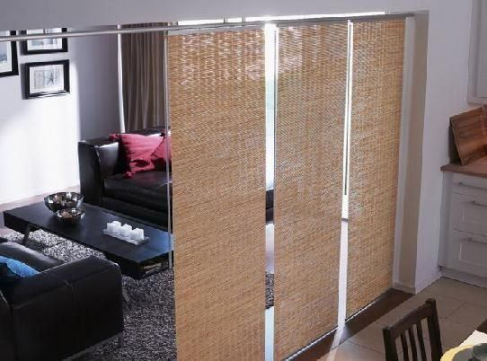decorate with Japanese panels