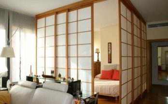 japanese panels for bedroom
