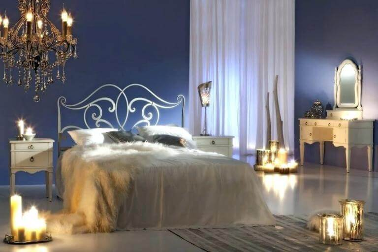 romantic rooms with candles