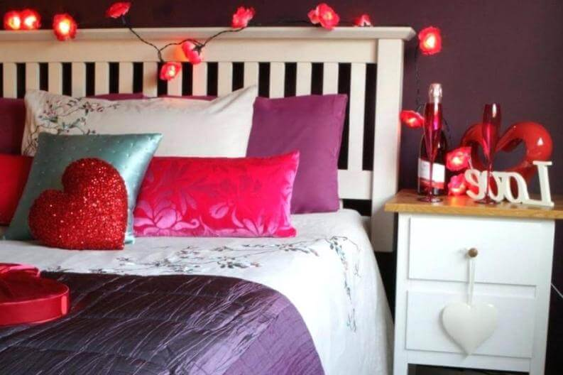 romantic rooms with hearts